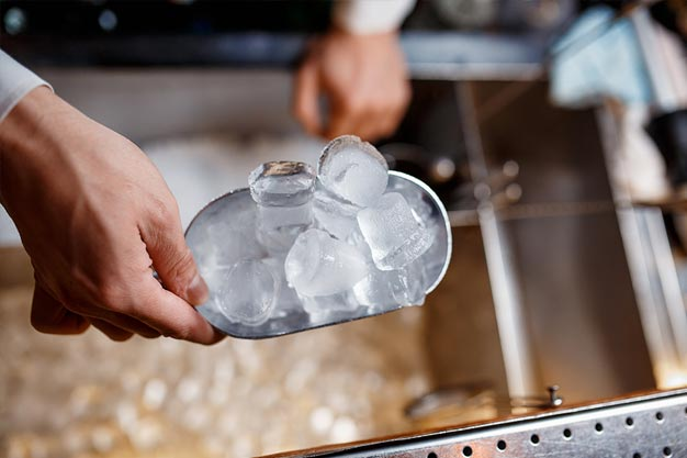 Ice Delivery for Restaurants