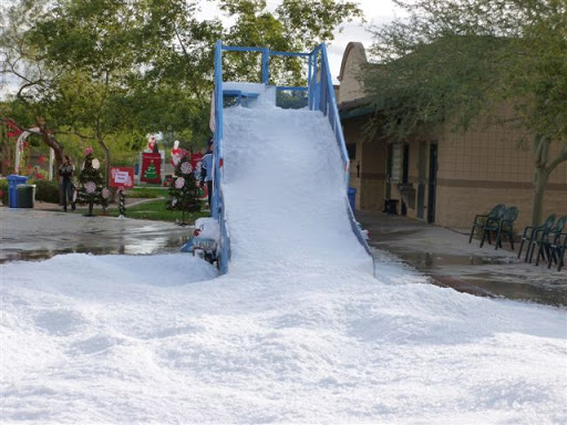 Snow Slide In Phoenix